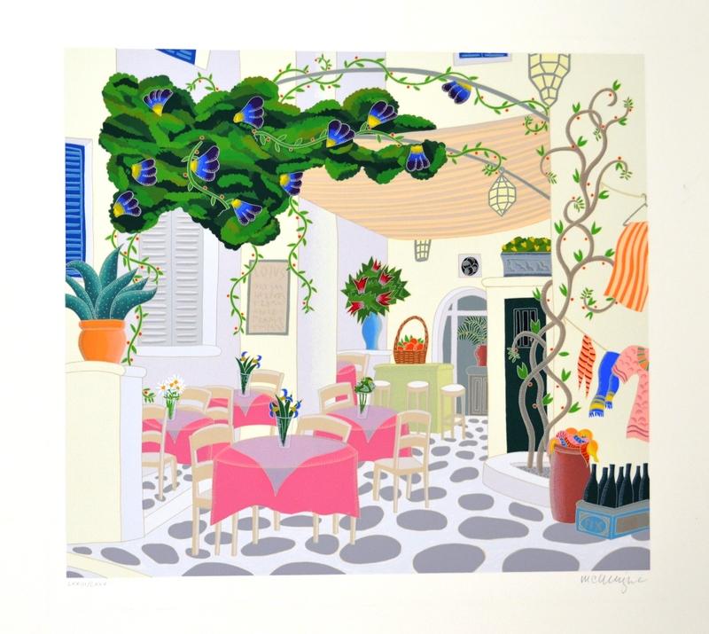 Thomas Frederick MCKNIGHT - Print-Multiple - Lotus