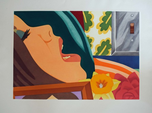 Tom WESSELMANN - Print-Multiple - Bedroom Face