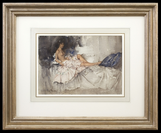William Russell FLINT - Dibujo Acuarela - Amythist