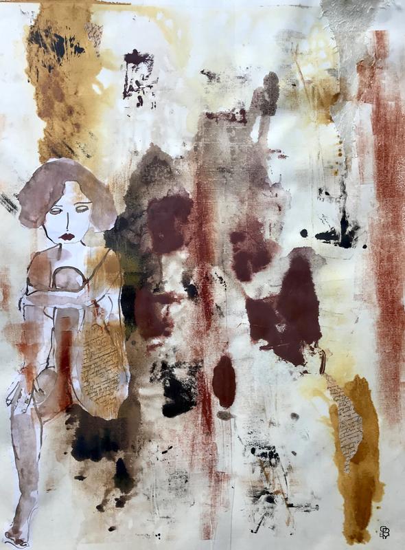 Aurélie LAFOURCADE - Dessin-Aquarelle - DOUCE MELANCOLIE