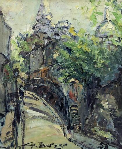 Georges BERGER - Pintura - Montmartre