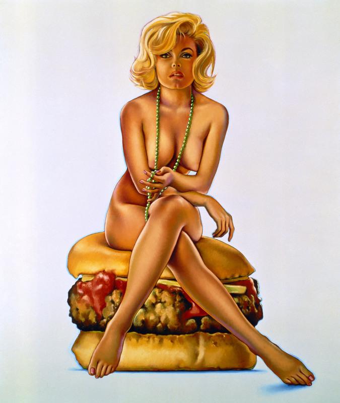 Mel RAMOS - Druckgrafik-Multiple - Virnaburger