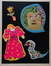 Niki DE SAINT-PHALLE - Estampe-Multiple - Nana Power III