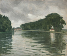 Albert MARQUET - Painting - La Seine à Samois