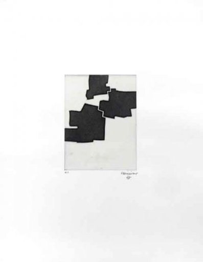 Eduardo CHILLIDA - Estampe-Multiple - Gezna IV