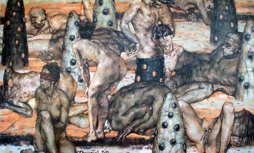 Maxim ORLITSKIY - Pintura - Anhedonic adoration