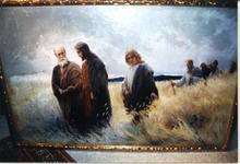 Johannes Raphael WEHLE - Painting - Hauptwerk,main work,,Und sie folgten ihm nach,,