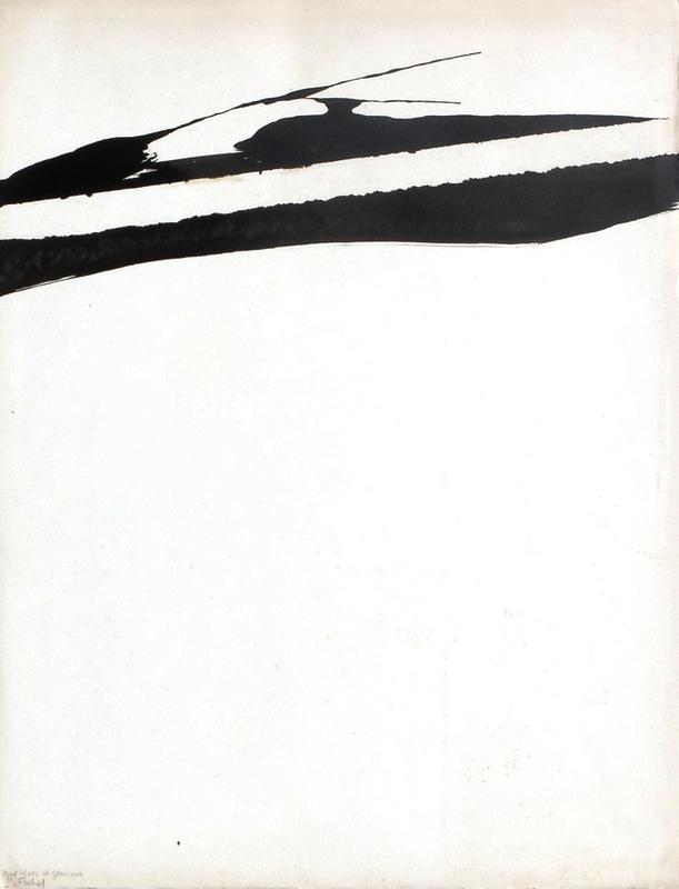 Pierre FICHET - Dibujo Acuarela - Composition