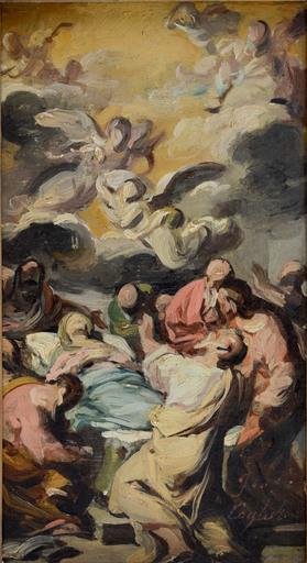 Francesco COGHETTI - Pittura - Transito della Vergine