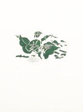Georges BRAQUE - Grabado - Le liseron vert : Lettera Amorosa