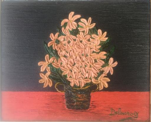 Émilienne DELACROIX - Pintura - Bouquet de fleurs