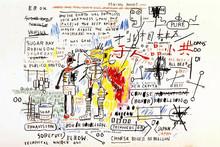 Jean-Michel BASQUIAT - Stampa Multiplo - Boxer Rebellion
