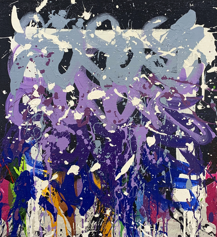 JONONE - Pittura - Time After Time