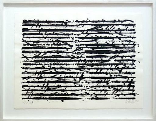 Günther UECKER - Print-Multiple - OPTISCHE PARTITUR -MOZART