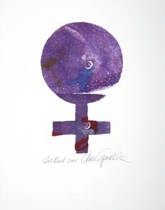 Annie SPRINKLE - Pintura - Tit Print