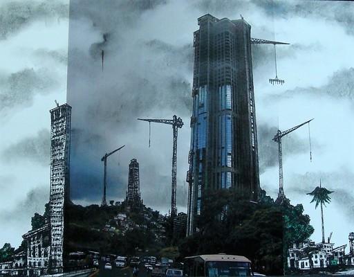 Sándor GONZÁLEZ VILAR - Pintura - Habaneando Serie, #4 (walking in Havana Serie)
