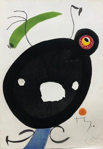 Joan MIRO - Stampa-Multiplo - Quatre colors Aparien El Mon IV