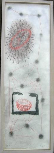 H.N. SEMJON - Zeichnung Aquarell