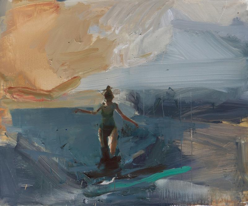 Vladimir SEMENSKIY - 绘画 - Going Down to Shore