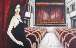 Fabio CALVETTI - Peinture - Il tuo teatro