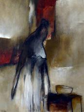 Danielle JULIEN - Painting - FEMME DE TERRE