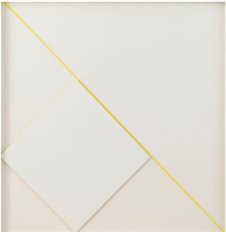 Alessandro DE ALEXANDRIS - Painting - Diagonale gialla