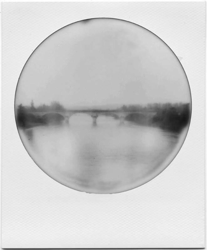 ELIZERMAN - Photography - Dordogne from the bridge/Vue sur la Dordogne