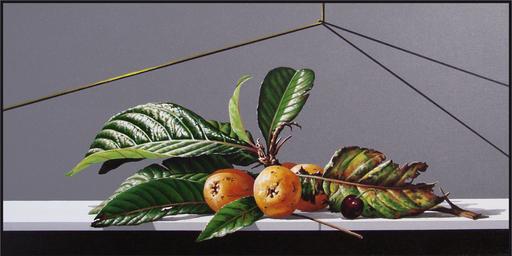 GERICO - Painting - Natura in posa (nespole e ciliegia)