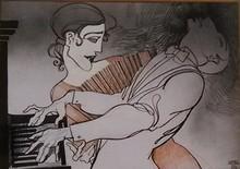 Juárez MACHADO - Painting - Duo