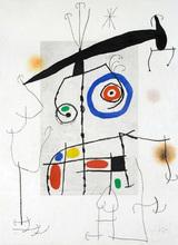 Joan MIRO - Estampe-Multiple - L'homme au balancier