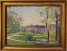 Louis François CABANES - Painting - Anderlecht - Bruxelles