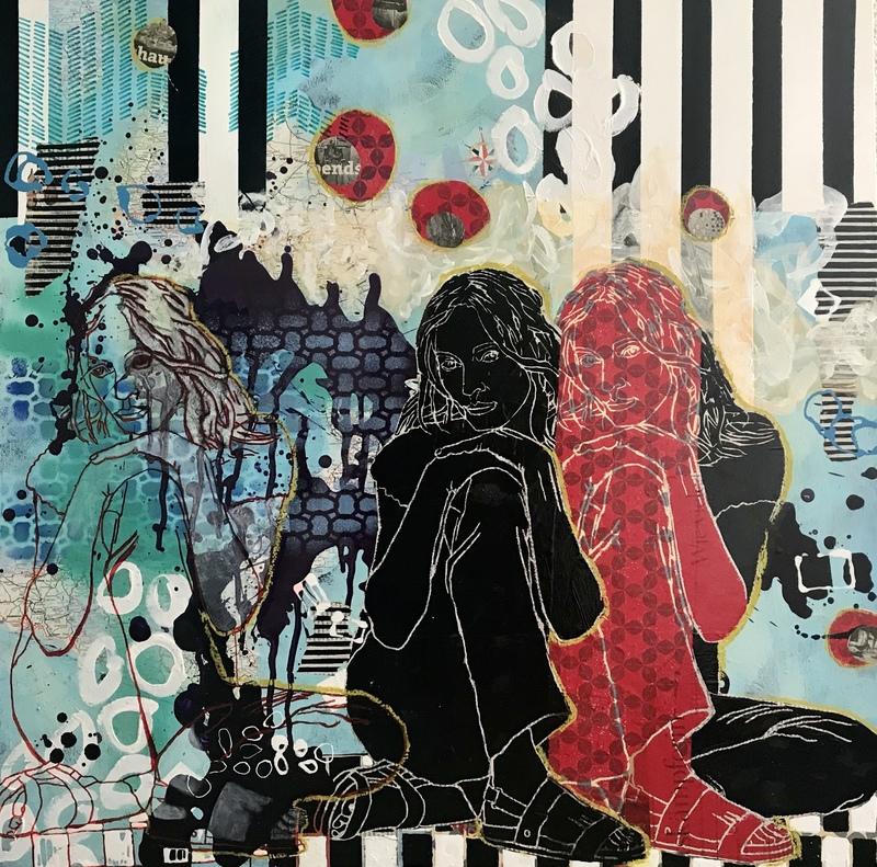 Marita TOBNER - Painting - Alles Neuland