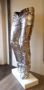 Richard ORLINSKI - Sculpture-Volume - Wild jeans Aluminium