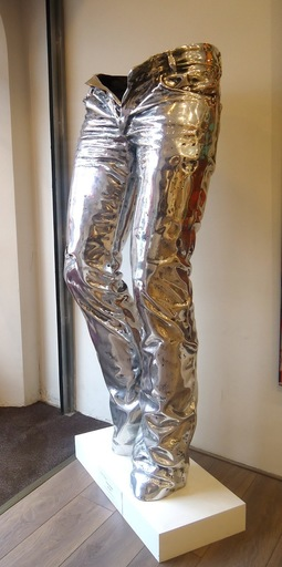 Richard ORLINSKI - Sculpture-Volume - Wild jeans Aluminium