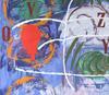 Mimmo PALADINO - Peinture - Quadro Africano.