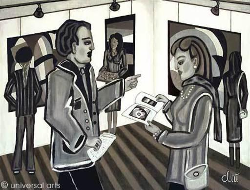 Jacqueline DITT - Peinture - Die Kunstsammler