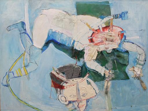 Simone PICCIOTTO - Painting - Sans titre