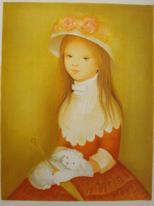 Guy SÉRADOUR - 版画 - L'Infante,1984.