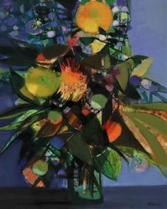 Camille HILAIRE - Pittura - Fleurs