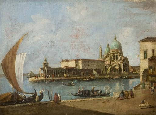 Francesco (Studio) GUARDI - Gemälde - Venedig-Santa Maria della Salute
