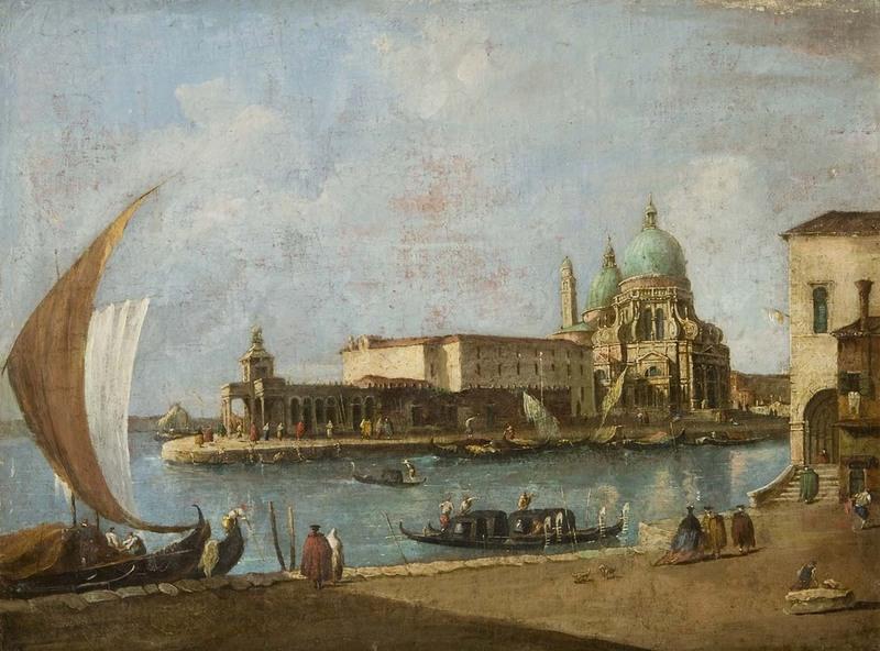 Pintura - Venedig-Santa Maria della Salute