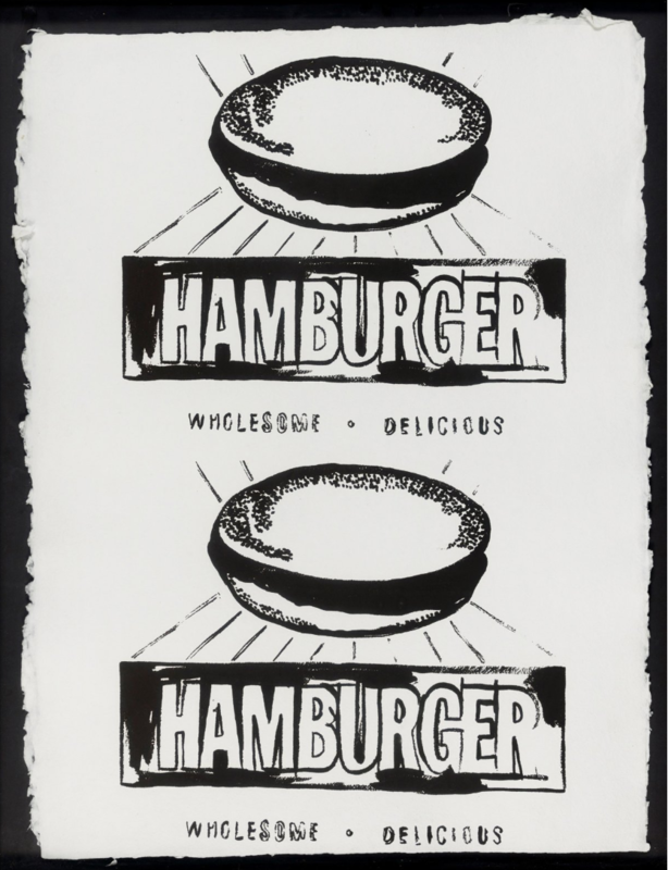 Andy WARHOL - Print-Multiple - Double Hamburger