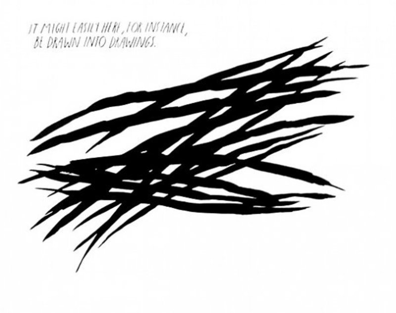Raymond PETTIBON - Print-Multiple - Untitled, It might easily -be drawn into drawings