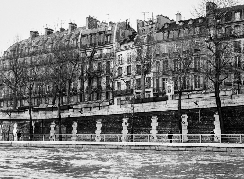 Robbert Frank HAGENS - Photography - Seine Waterside - Paris 1973