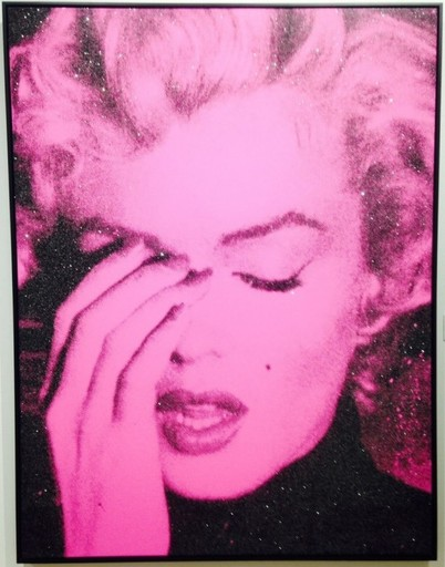 Russell YOUNG - Estampe-Multiple - Marilyn Crying