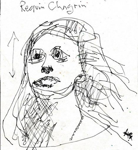 Harry BARTLETT FENNEY - Zeichnung Aquarell