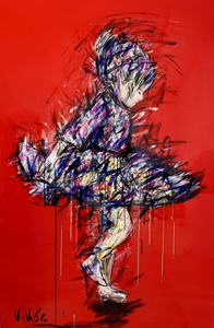 KIKO - Peinture - Fuego