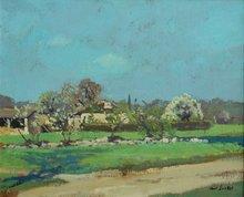 Paul SURTEL - Painting - QUERCY
