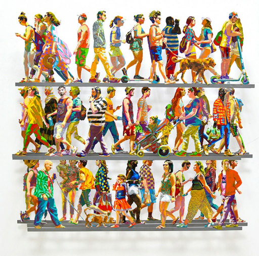 David GERSTEIN - Sculpture-Volume - 5th Avenue Q
