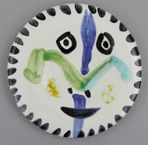 Pablo PICASSO - Escultura - Face No. 144